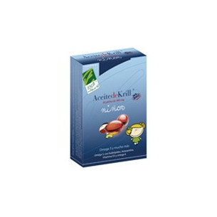 100% Natural Aceite de Krill NKO niños 60 perlas