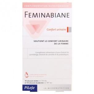 Pileje Feminabiane confort urinario 28 cápsulas