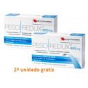 Pesoredux 900 mg 56 cápsulas de Forté Pharma pack