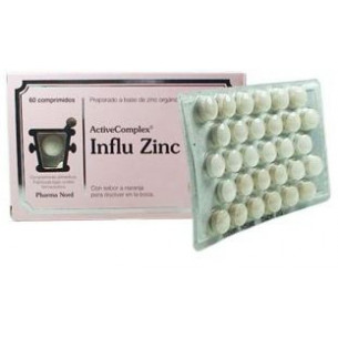 Pharma Nord Activecomplex Influ Zinc 60 comprimidos
