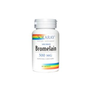 Solaray BROMELAIN 60 cápsulas