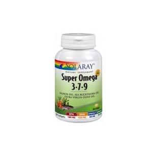Solaray SUPER OMEGA 3 7 9 120 perlas
