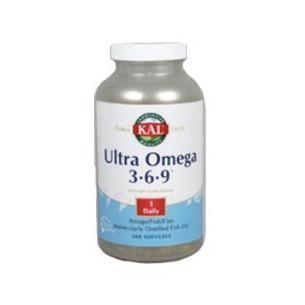 Solaray ULTRA OMEGA 3 6 9 100 perlas
