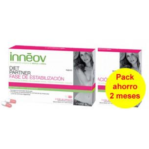 Pack ahorro Inneov Diet Partner fase estabilización 120 cápsulas