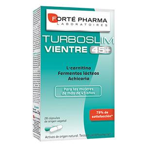 TurboSlim Vientre Plano 45+ de 28 cápsulas de Forte Pharma