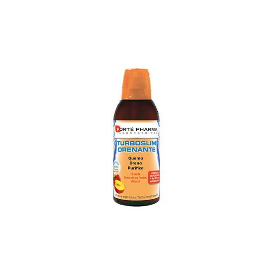Forte Pharma Turboslim Drenante sabor té de melocotón 500ml.
