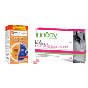 Pack ahorro Turboslim 56 + Inneov Diet partner estabilización