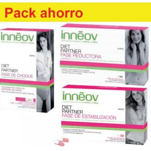 Pack ahorro Inneov Diet Partner 3 fases