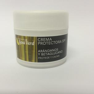 Spai Verd Crema protectora SPF ARÁNDANOS Y BETAGLUCANO 50 ml