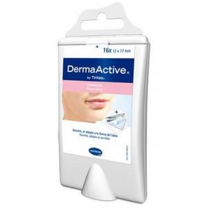 DermaActive Calenturas y herpes labial 16 parches. (+Pinzas)