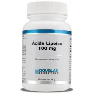 Douglas ácido R lipoico 100 mg. 60 capsulas vegetales