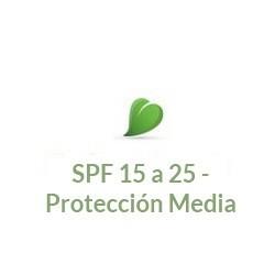 SPF 15 a 25 - Protección Media