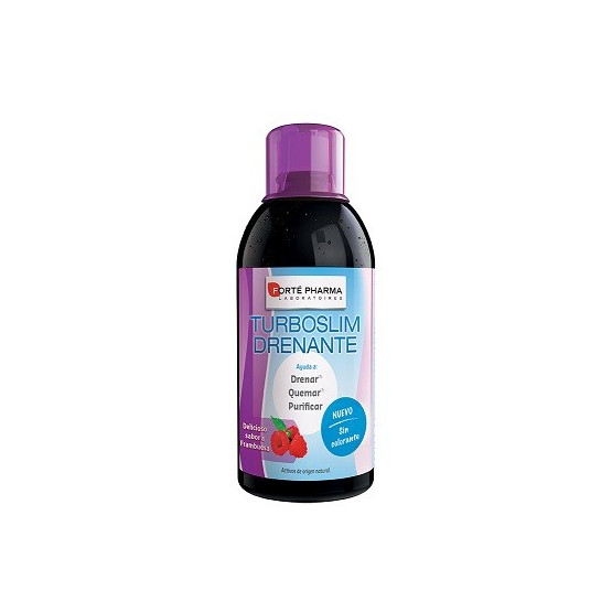 Forté Pharma Turboslim Drenante frambuesa 500 ml. Concentrado líquido