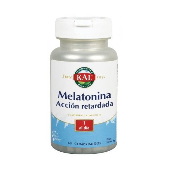 Kal Melatonin 1.9 mg + 5-HTP (Tryptophan) action delayed 60 tablets