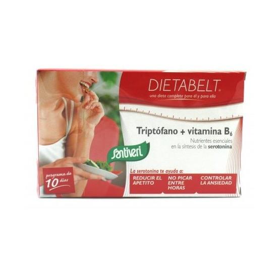 Santiveri Dietabelt Tryptophan + Vitamin B6 40 Capsules