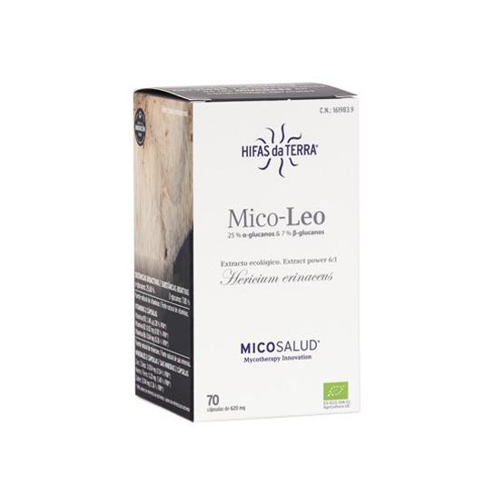 Hifas de Terra HDT Mico Leo 70 cápsulas