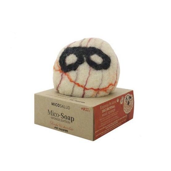 Hifas de Terra HDT Mico- Soap esponja niño +jabón reishi-chocolate 100gr