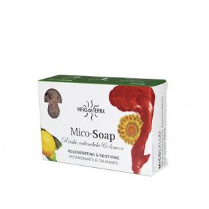 Hifas de Terra HDT Mico- Soap esponja +jabón artesan 100gr