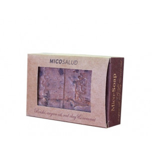 Terra hyphae HDT Mico r reishi- Soap argan and coconut pink- clay 150gr