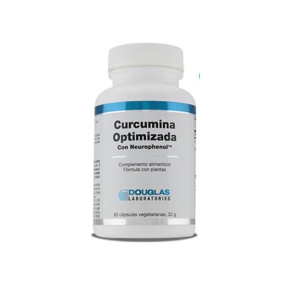 Douglas Curcuma Optimizada con Neurofenol 60 capsulas. Complemento alimenticio