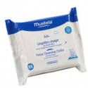 Mustela High Tolerance Face 25 Wipes