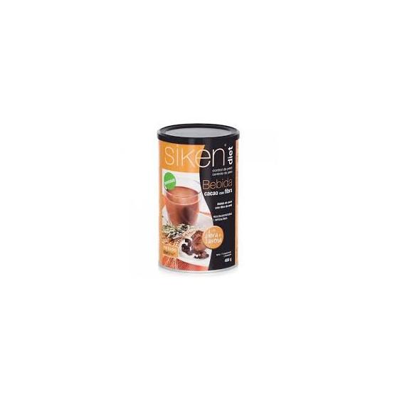 Sikendiet bebida de cacao con fribra de avena 400gr