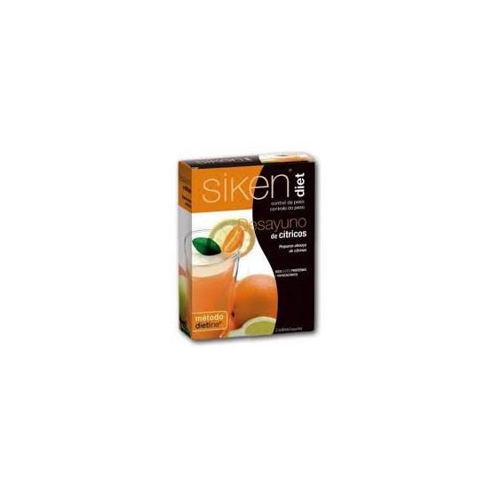 Sikendiet desayuno de cítricos 3 sobres