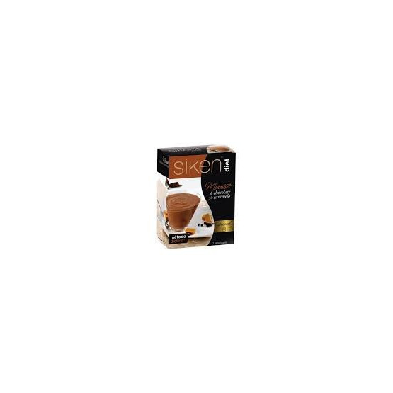 Sikendiet mousse gourmet chocolate y caramelo 7 sobres