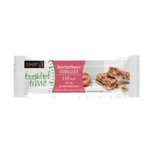 Sikendiet barrita de cereal con fresa y yogur 25gr caja 24 unidades