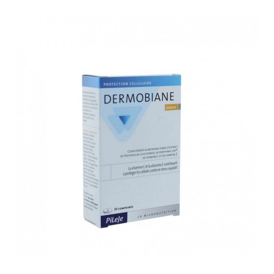 Pileje Dermobiane solar 30 cápsulas