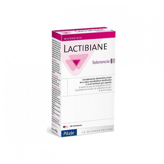 Pileje Lactibiane Tolerance 30 cápsulas