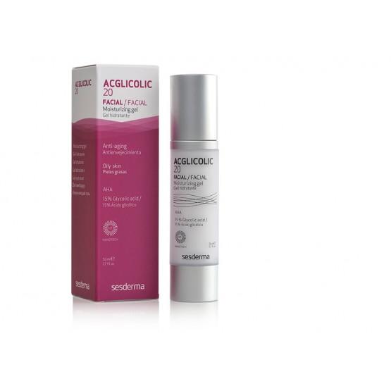 Sesderma Acglicolic 20 Hydrating Gel Cream oily skins - 50ml