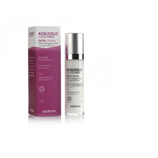 Sesderma Acglicolic Clasic hydrating gel cream Forte - 50ml