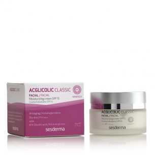 Sesderma Acglicolic Classic Hydrating cream SPF15 - 50ml