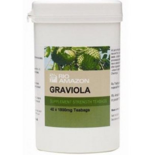 Graviola (guanabana) hojas trituradas 40 infusiones. Universo Natural