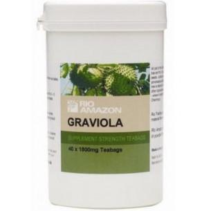 Graviola (soursop) zerkleinerte Blätter 40 Infusionen. Natur Universum