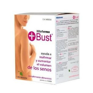 Hilefarma Mas Bust 128 capsules food supplement