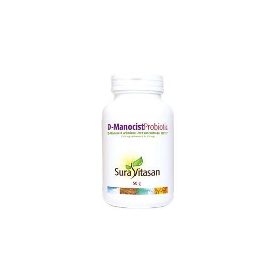 Sura Vitasan D-Manocist Probiotic 50 gramos (D-Manosa)