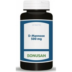 Bonusan D Manose 500mg 120 tablets