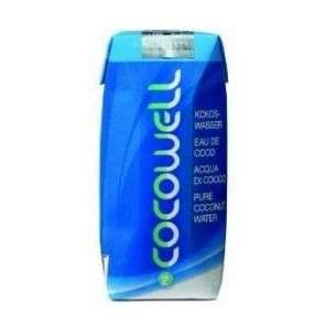 Cocowell Coconut water 100% Natural 330 ml