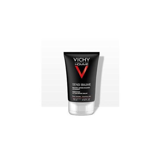Vichy Homme Sensi-Baume Bálsamo post afeitado 75 ml.