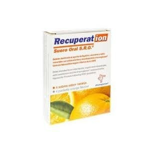 Recuperat-ion Oral Serum orange flavor 4 sachets