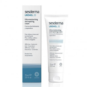 Sesderma Uremol cream ultrahydrating feet, elbows, knees 75ml