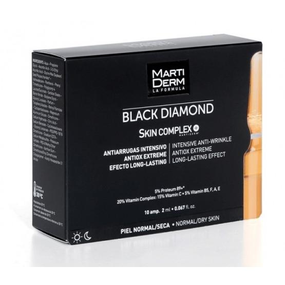 MartiDerm Black Diamond Skin Complex 10 ampollas