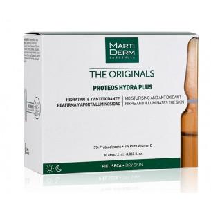 Martiderm The Originals Proteos Hydra Plus proteoglicanos piel seca 10 ampollas