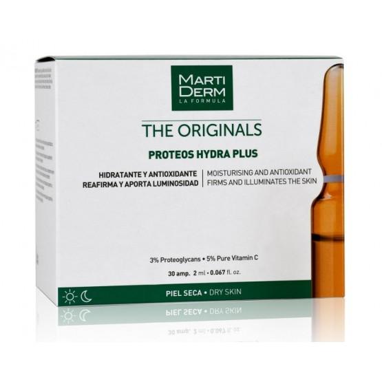 Martiderm The Originals Proteos Hydra Plus proteoglicanos piel seca 30 ampollas