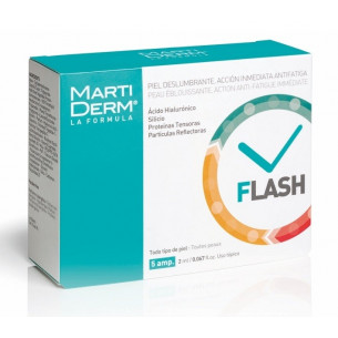Martiderm Flash - 5 ampoules all skin types