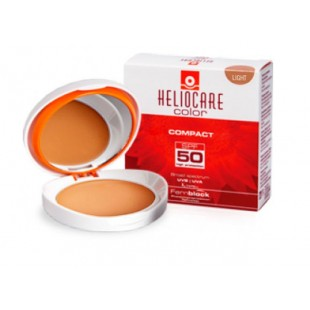 Heliocare Color Compact SPF50 + light 10 grams, Normal to dry skin