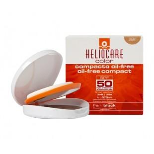 Heliocare Color Compacto Oil free Light SPF 50 Pieles normales a grasas