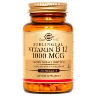 Solgar Vitamina B12 1000mcg 250 comprimidos masticables
